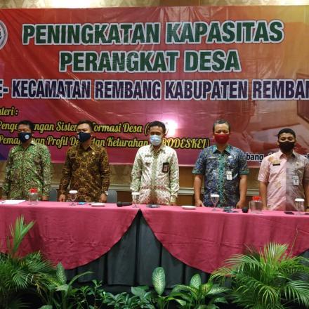 Pelatihan SID Se-Kecamatan Rembang Th. 2020